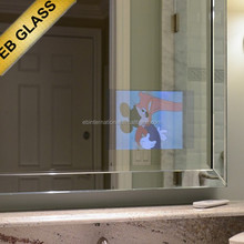 Mirror TV Multimedia, mirrored flat screen tv EB GLASS BRAND