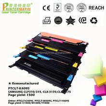 Toner Cartridges Remanufactured Printer Cartridges FOR USE IN SAMSUNG CLP310/315, CLX-3170,CLX-3175 (PTCLT-K409S)