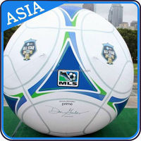 Giant Inflatable Soccer Ball Model For World Cup Football Games / Home Court Gym Display