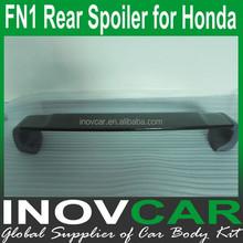 FN1 Carbon Fiber Rear Roof Spoiler, Car Trunk Lip Spoiler For Honda Rear Spoiler