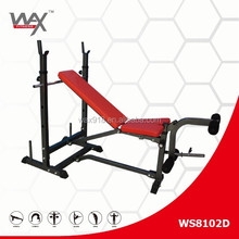 2015 WS8102D Fitness equipment multifunctional weight lifting bed barbell set bench stand household