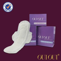 Ladies organic cotton sanitary towel