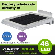 3 years warranty warm white 46leds mini solar led light kits