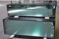 clear float double glazing insulated glass factory