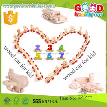 EN71 high quality promotion toy cars for children OEM/ODM educational wooden toy vehicle