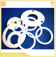 ptfe rope gaskets Reinforced white flat ptfe gasket wholesale rubber o-ring PTFE flat gasket