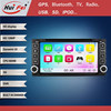 Double Din Car Head Unit For Toyota Car Dvd With GPS For Corolla EX Wince6.0 System