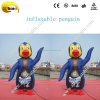 customized inflatable penguin advertising inflatable cartoon characters