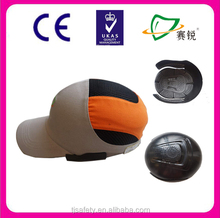safety bump cap inner and ABS&HDPE plasic helmet shell