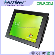 Aluminium alloy case Windows8 15 inch Touch Screen Panel Industrial PC All in one