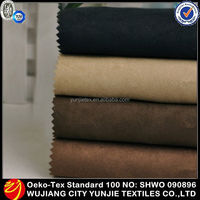2015 Hot Selling 100% Cotton Suede Fabric