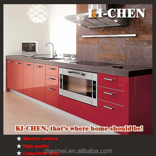 Prefab kitchen cabinet and kitchen cabinet pvc countertop for Prefab kitchen cabinets