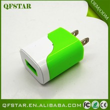 Factory direct sale decoratve home usb travel wall charger