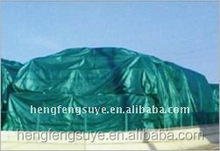 PVC/PE coated tarpaulin production
