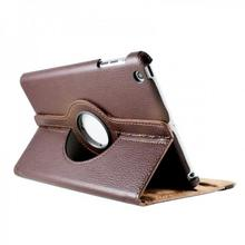 iPad Mini 360 Degree Brown Case with Stand