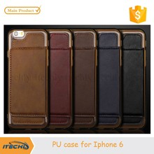 Itechly for iphone 6 cases for custom iphone back cover PU leather phone cases 2015 manufacturer price
