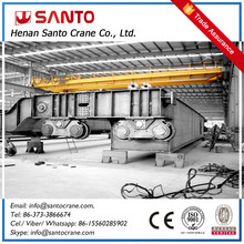 Electric Double Girder Overhead Traveling Crane With Durable Hook