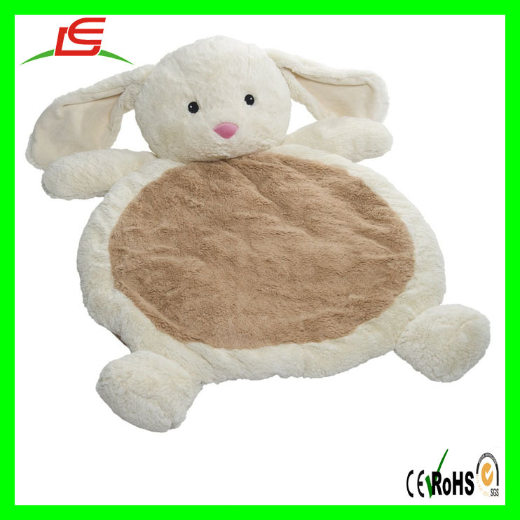 Baby Infant Cuddle Plush Soft Play Mat Floor Rug For Gift