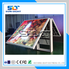 SLT waterproof RGB latest dip p10 double sided outdoor led open sign