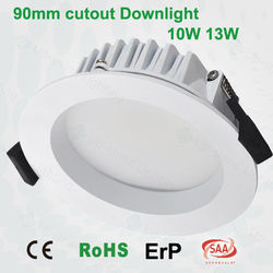 SAA/TUV certificated triac dimmable LED downlight 15W-70W recessed recessed led downlight upshine led lux down light