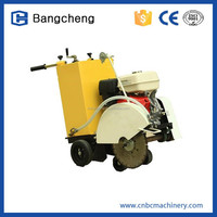 Concrete Road Cutter with Diesel Engine, 500mm Blade and 150mm Cutting depth
