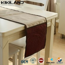 The latest design 2015 high quality crumpled cloth table runner
