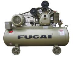 European market CE approved 5.5KW ( 7.5HP 0.6m3/min 12.5bar 230L air receiver )Model F60012 FUCAI high quality piston compressor