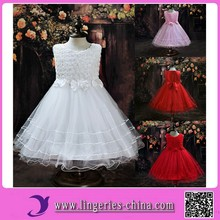 2015 Multiple Color High Quality Flower girl dress