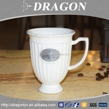 2016 New style eco friendly decoration reusable ceramic custom coffee mugs