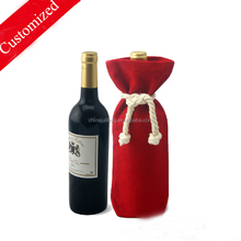 2015 High Quality single Wine Bottle bags Carrier Bag As Promtional Gift Bag