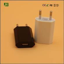 CE, RoHS approved cell phone charger for iphone 5 charger