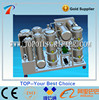 Waste vehicle engine oil recycling machine,decoloriztion and purification,improve oil color,restore to golden