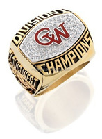 18K Gold plated custom championship rings to celebrate your success