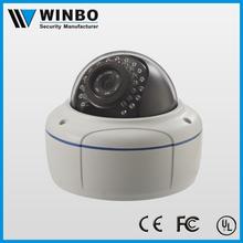 weatherproof digital high resolution 2 megapixel camera ip with POE function