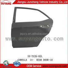 Hot Sale Auto Body Parts Back/Rear Door For Toyota Corolla 2014