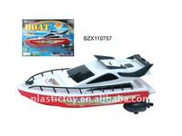 Kid plastic battery operate boat toy BZX110757