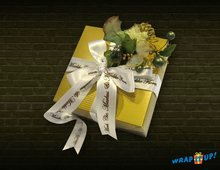 Personalized ribbons and wrappers