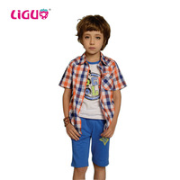 Check pattern fashion boys beautiful shirt boys fancy shirts latest shirt designs for boys