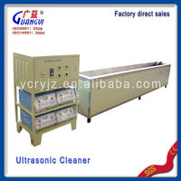 Diesel particulate filter ultrasonic cleaning