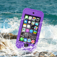 Shockproof Phone Case Redpepper for iPhone 5 Waterproof Case, For iPhone 5S Red Pepper Case