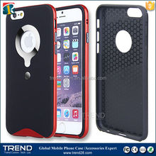 hard plastic carrying armor bird nest cases pc+tpu for iphone 6