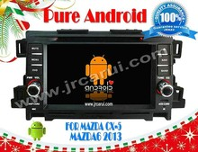 Android 4.4 gps video playe for MAZDA 6 (2013) RDS,Telephone book,AUX IN,GPS,WIFI,3G,Built-in wifi dongle