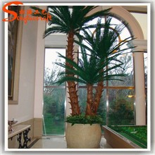 2015 wholesale all types of artificial decorative metal plastic palm tree for sale