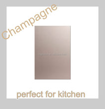 Anti-stained aluminum-wood composite mdf for kitchen cabinet and cupboard