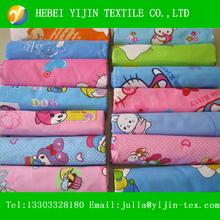 High Quality Colorful Plain Fleece 100% Cotton Flannel Fabric