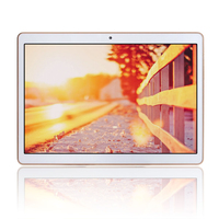 Slim 9.7 inch quad core 3g tablet with sim card slot , 1280*800 ips screen android 4.4
