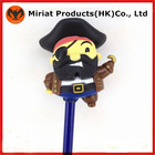 Hot brinquedos figuras de ação de plástico brinquedos piratas lápis de coco