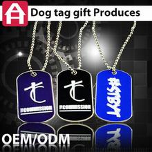 good quality customer design MOQ 10 dog tags sublimation