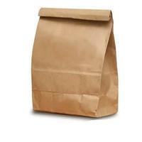 wholesale fastfood kraft paper bag