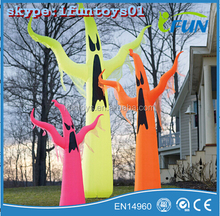 Halloween Inflatable Ghost lighting /Inflatable Slender Ghost With Light up / Inflatable Lighted Ghost for Halloween Party